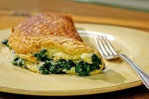 Receta de Tortilla Rellena de verduras para niños
