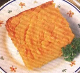 soufle de zanahoria y queso