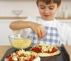 Receta para Cocinar Pizza para Niños