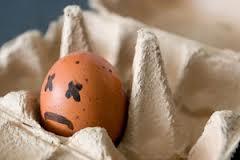 Huevo malo