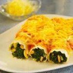 Segundo plato - Canelones de Espinacas