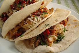 pollo, burritos de pollo, receta méxicana