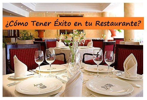 restaurante de exito