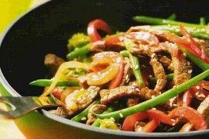 Reto Receta Sana: Wok de Vegetales Con Lo Que Te Apetezca