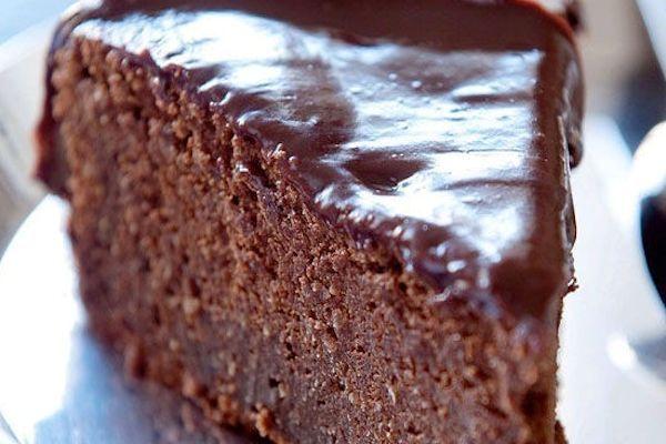 Tarta de chocolate para celiacos