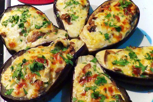 Reto recetas sanas berenjenas rellenas al horno cocinar for Cocina berenjenas rellenas