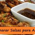 Preparar Salsa para Alitas de Pollo