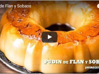 PUDIN de Flan y Sobaos