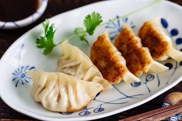 Recetas tradicionales japonesas: GYOZA, empanadillas para el entrante