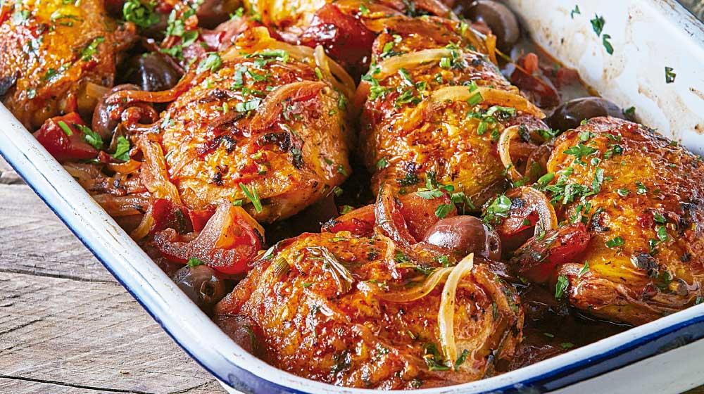 Cuatro recetas con pollo